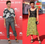 Jasmine Trinca In Prada - Sulla Mia Pelle (On My Skin) Venice Film Festival Photocall & Screening