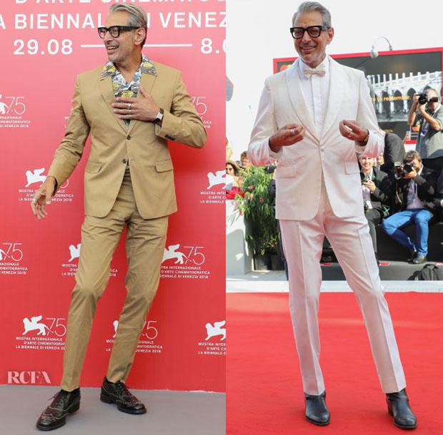 Jeff Goldblum venice film festival