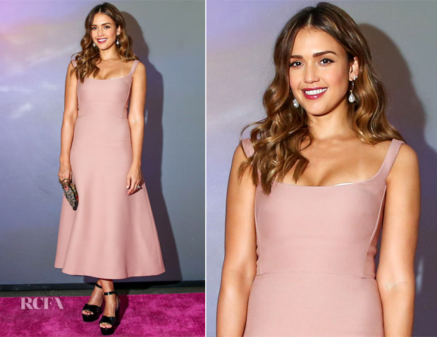 Jessica Alba In Christian Dior - The Nylon Beauty Innovator Awards