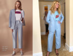 Julia Roberts In Sandro - Summer 2018 TCA Press Tour 'Homecoming'