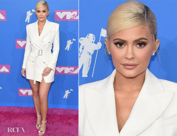 Kylie Jenner in Tom Ford - 2018 MTV VMAs