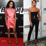 Laura Harrier In Louis Vuitton - 'BlacKkKlansman' New York Premiere & Build Series
