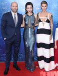 Li Bingbing In Jenny Packham & Ruby Rose In Valentino - 'The Meg' Beijing Premiere
