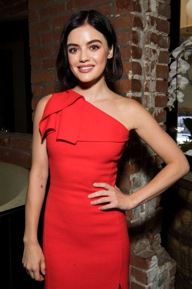 Lucy Hale In Oscar de la Renta - St. Jude Luncheon