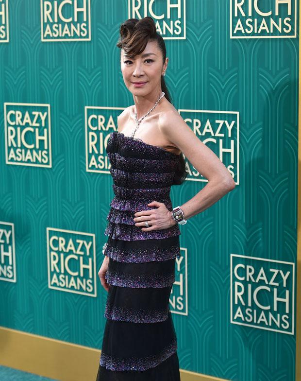Michelle Yeoh In Armani Prive