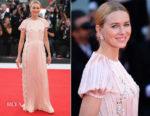 Naomi Watts In Prada - 'Roma' Venice Film Festival Premiere