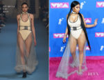 Nicki Minaj In Off-White - 2018 MTV VMAs