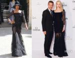 Nicole Kidman In Ulyana Sergeenko Couture - Omega 'Her Time' Exhibition