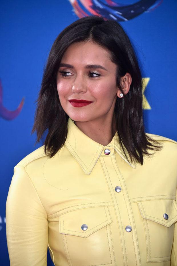 Nina Dobrev In Calvin Klein 205W39NYC - 2018 Teen Choice Awards
