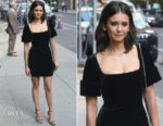 Nina Dobrev In Christopher Kane - The Late Show with Stephen Colbert