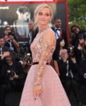 Olivia Hamilton In Lela Rose & J. Mendel - 'First Man' Venice Film Festival Premiere & Opening Ceremony