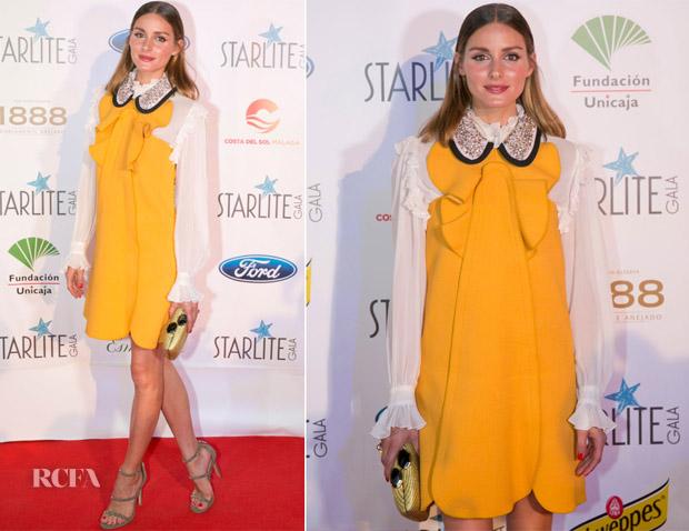 Olivia Palermo In Giambattista Valli - Starlite Gala 2018