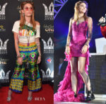 Paris Jackson In Gucci & Balmain - Michael Jackson Diamond Birthday Celebration