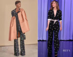 Rose Byrne In Rochas - The Tonight Show Starring Jimmy Fallon