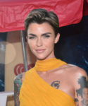Ruby Rose In Prabal Gurung - 'Meg' LA Premiere