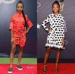 Skai Jackson In Victoria, Victoria Beckham & Mother Of Pearl - Arthur Ashe Kids' Day & Black Girls Rock! 2018