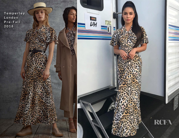 Vanessa Hudgens In Temperley London - So You Think You Can Dance Live