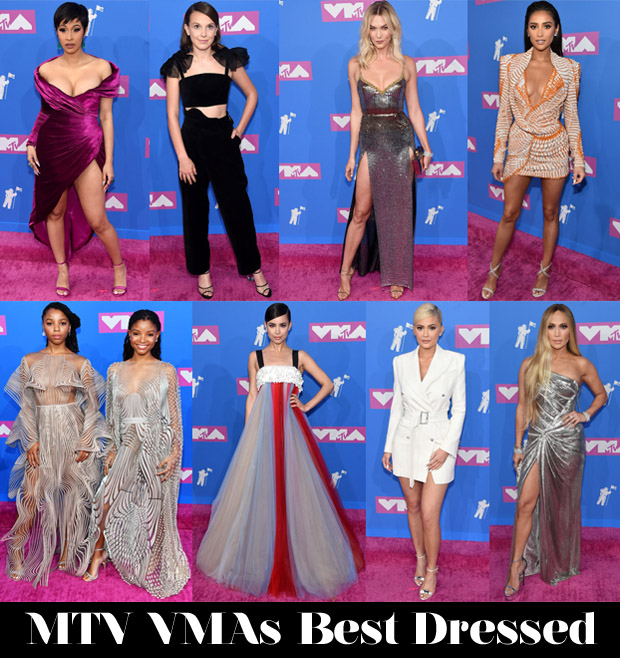 Best Dressed At The 2018 MTV VMAs