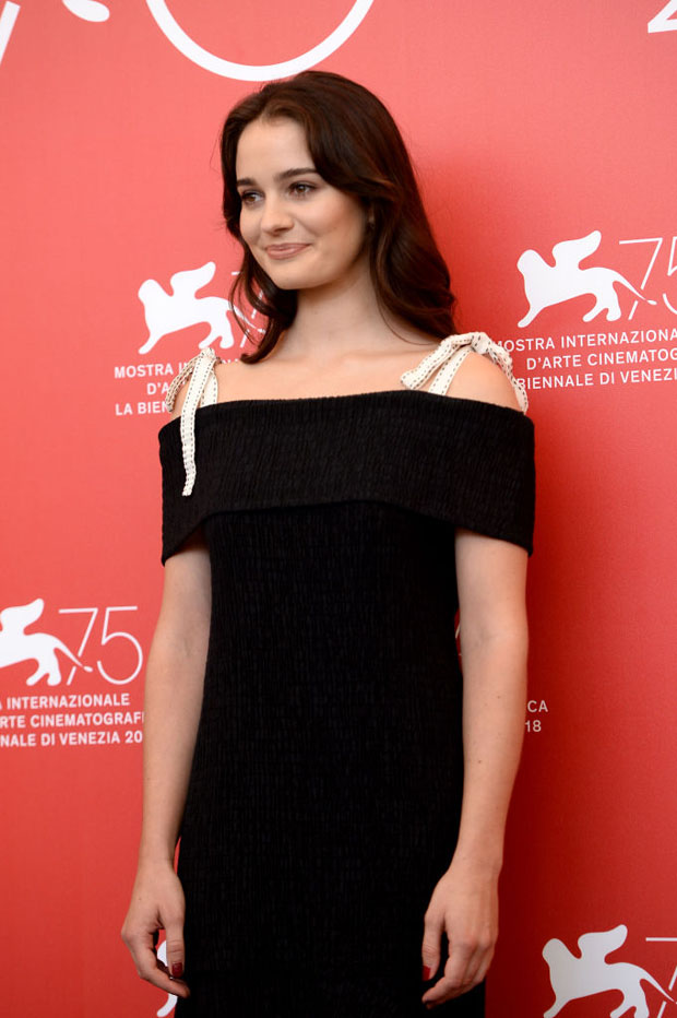 Aisling Franciosi In ADEAM & Givenchy Haute Couture - 'The Nightingale' Venice Film Festival Photocall & Premiere