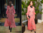 Alexa Chung In Erdem - Byredo x Dazed Dinner Party