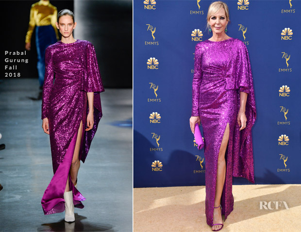 Allison Janney In Prabal Gurung - 2018 Emmy Awards