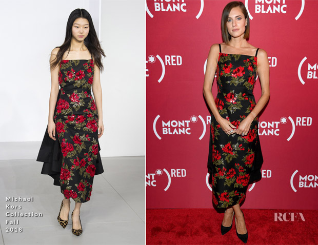 Allison Williams in Michael Kors Collection - The New (Montblanc M)RED Collection Event