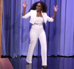 Angela Bassett In Vitor Zerbinato - The Tonight Show Starring Jimmy Fallon