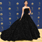 Angela Sarafyan In Christian Siriano - 2018 Emmy Awards