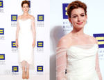 Anne Hathway In Vivienne Westwood - 22nd Annual Human Rights Campaign National Dinner