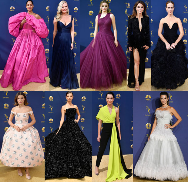 Who Was Your Best Dressed At The 2018 Emmy Awards?