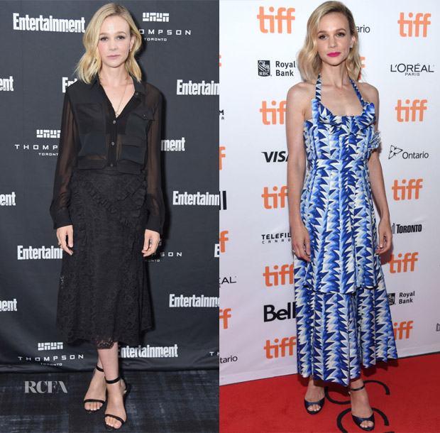 Carey Mulligan In  Altuzarra & Chanel - 2018 Toronto International Film Festival