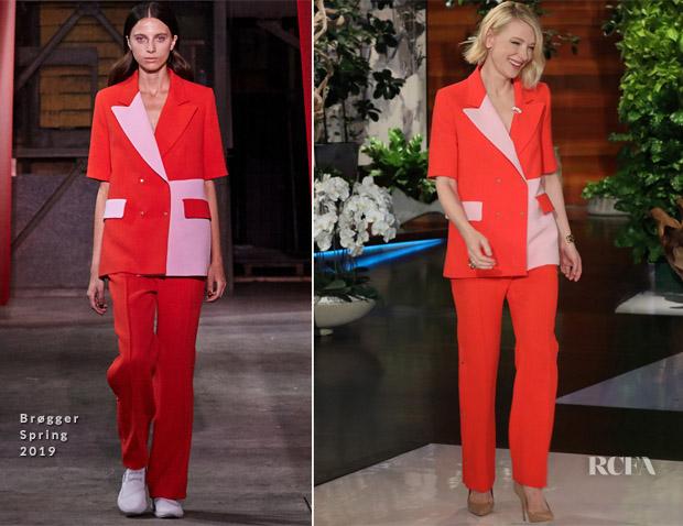 Cate Blanchett In Brøgger - The Ellen DeGeneres Show