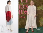 Cate Blanchett In Stella McCartney Green Carpet Collection - Green Carpet Fashion Awards Italia 2018