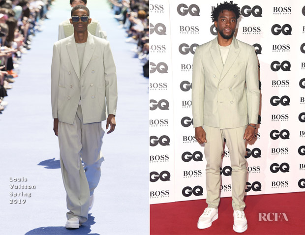 Chadwick Boseman In Louis Vuitton - 2018 GQ Men Of The Year Awards