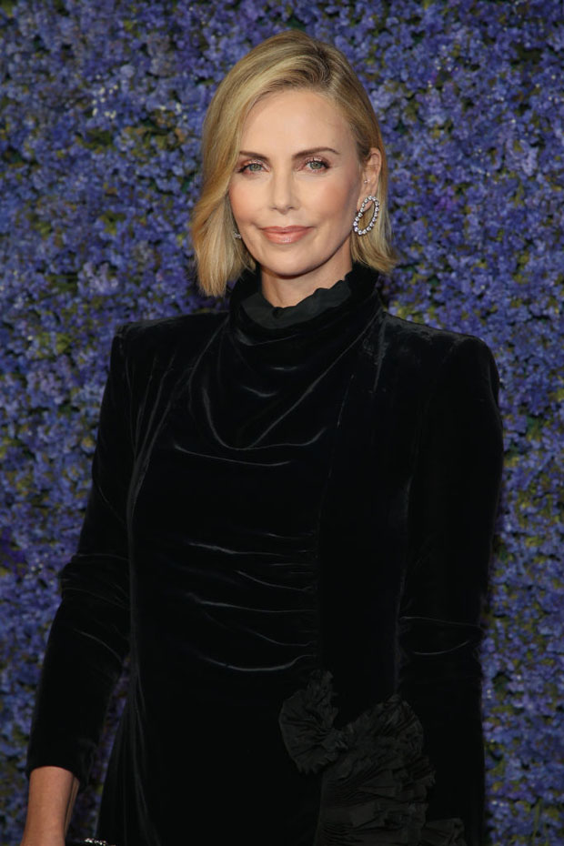 Charlize Theron In Gucci - Caruso's Palisades Village Opening Gala