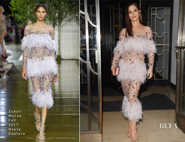 Cheryl Cole In Zuhair Murad Haute Couture - Nigel Hall's Wedding