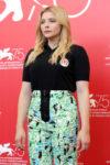 Chloe Grace Moretz In Miu Miu - 'Suspiria' Venice Film Festival Photocall