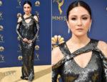 Constance Wu In Jason Wu - 2018 Emmy Awards
