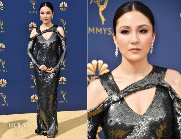 Constance Wu In Jason Wu - 2018 Emmy Awards
