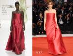 Dakota Johnson In Christian Dior Haute Couture - 'Suspiria' Venice Film Festival Premiere