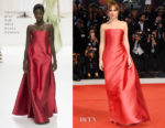Dakota Johnson In Christian Dior Haute Couture - 'Suspiria' Venice Film Festival Premiere