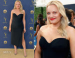 Elisabeth Moss In Vera Wang - 2018 Emmy Awards