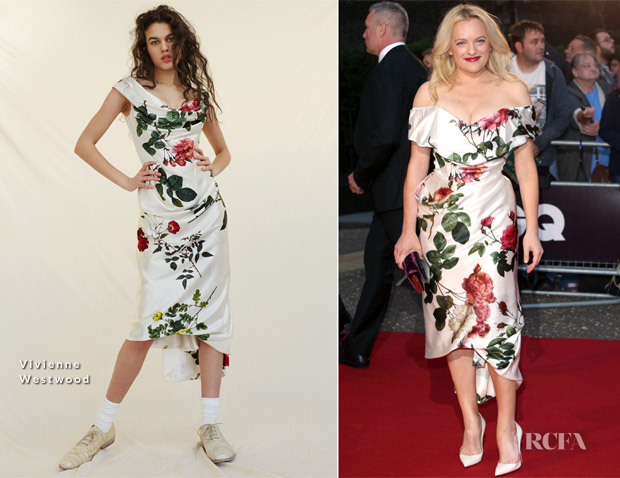 Elisabeth Moss In Vivienne Westwood - 2018 GQ Men Of The Year Awards