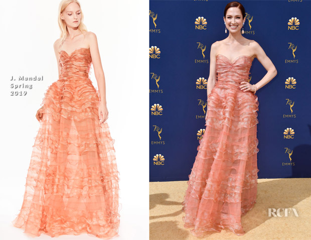Ellie Kemper In J. Mendel - 2018 Emmy Awards