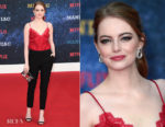 Emma Stone In Louis Vuitton - Netflix Presents The World Premiere Of 'Maniac'