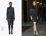 Emma Stone In Marc Jacobs - The Late Show with Stephen Colbert