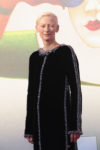 Tilda Swinton In Chanel Haute Couture - 'L'Annee Derniere a Marienbad' Venice Film Festival Premiere