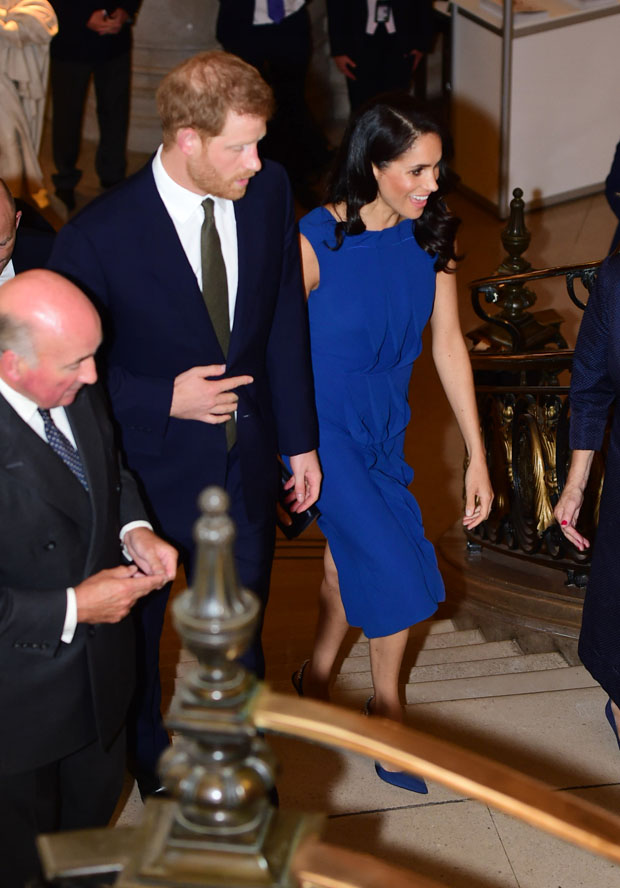Meghan, Duchess of Sussex In Jason Wu - '100 Days to Peace' Commemorative Concert
