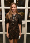 Hilary Swank In Michael Kors Collection & Giambattista Valli - 2018 Toronto International Film Festival