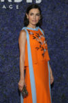 Camilla Belle In Carolina Herrera - Caruso's Palisades Village Opening Gala